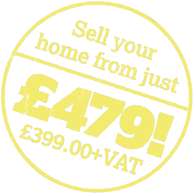 Sell your home from just £479